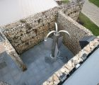 Außendusche Oben outdoor shower Fire Ice WellnessIMG 8420