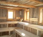 Altholz Sauna Old wood sauna Fire Ice Wellness Spa CIMG2239