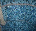 Bank Mosaik bench mosaic therme bad rodach fire Ice Wellness IMG 9849
